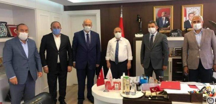 Başkan Çebi Enerji ve Tabii Kaynaklar Bakan Yardımcısı ile Görüştü