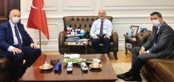 Başkan Çebi İçişleri Bakanı İle Görüştü
