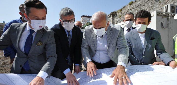 Başkan Zorluoğlu Saha Çalışmalarına Devam Ediyor