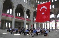 Doğu Karadeniz'in en büyük cami ve külliyesinde, 20 bin kişinin aynı anda ibadet edebilecek