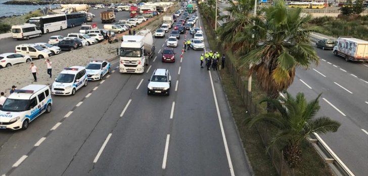 Trabzon'da hafif ticari aracın çarptığı yaya öldü