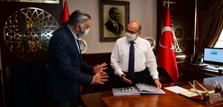 Trabzon Valisi Ustaoğlu, AA Trabzon Bölge Müdürü Sel'i kabul etti