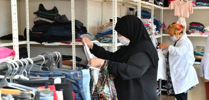 Trabzon'da hayırseverlerin giysi bağışı yılda 6 bin aileye ulaşıyor