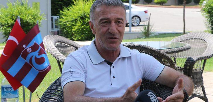 Trabzonspor Kulübü Başkanı Ağaoğlu'ndan 'şampiyonluk' açıklaması