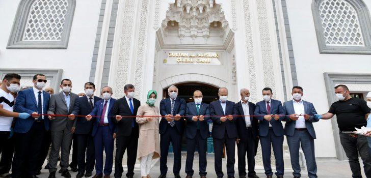 Başkan Zorluoğlu Sultan Alparslan Çilekli Camii'nin Açılışına Katıldı