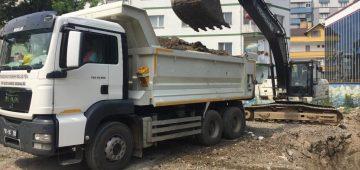 Trabzon Büyükşehir Belediyesi'nde hafta sonu mesaisi