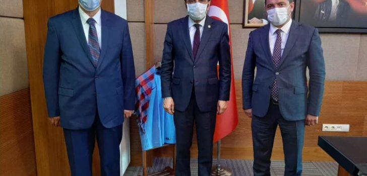 Başkan Çebi'den Milletvekili Balta'ya Hayırlı Olsun Ziyareti