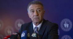 Trabzonspor Başkanı Ahmet Ağaoğlu'ndan CAS kararı tepkisi: