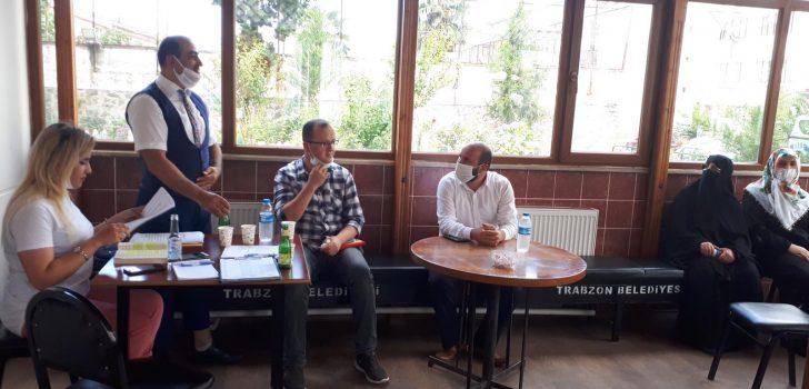 Trabzon'da Gasilhane personeline yönelik psikolojik destek semineri verildi