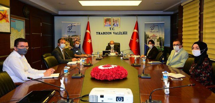 Vali İsmail Ustaoğlu, İl Salgın Denetim Merkezi Görevlileriyle Toplantı Gerçekleştirdi
