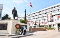 Atatürk'ün Trabzon'a gelişinin 96. yıl dönümü kutlandı