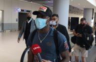 Trabzonspor'un transfer gündeminde yer alan Benik Afobe, İstanbul'a geldi