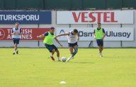 Trabzonspor, Yukatel Denizlispor maçı hazırlıklarını sürdürdü
