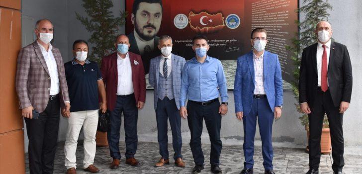 Sporcu Yetiştirme Daire Başkanı Çebi, ilçelerde incelemelerde bulundu