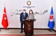 Parlementolar Arası Birlik Başkanından Büyükşehir'e Ziyaret