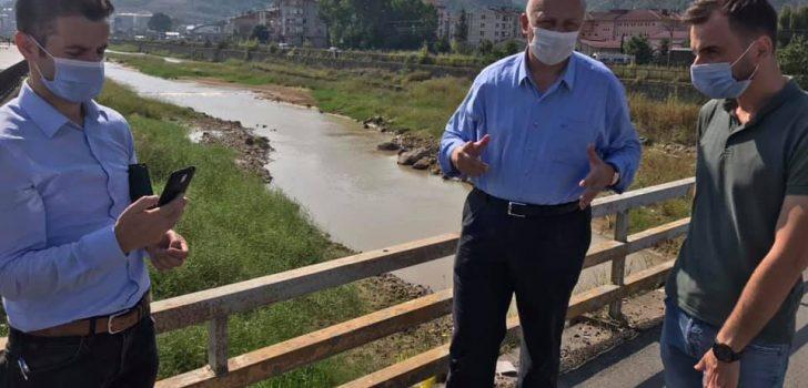 Araklı Sanayi Köprüsü Yenileniyor