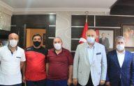 Araklı Sanayi Sitesi Yeni Yönetiminden Başkan Çebi'ye Ziyaret