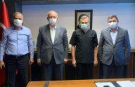 Başkanlardan KTÜ Farabi Hastanesine Hayırlı Olsun Ziyareti