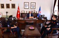 Başkan Zorluoğlu İtfaiye Personelini Ağırladı