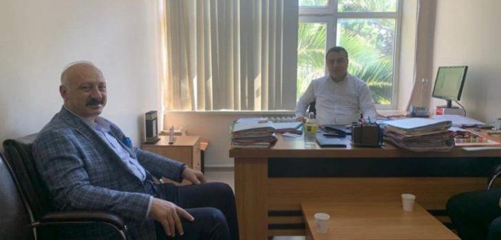 Başkan Çebi'den Hakim Aktaş'a Ziyaret