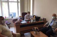 Başkan Çebi, Hakim Pamukçu'yu Ziyaret Etti
