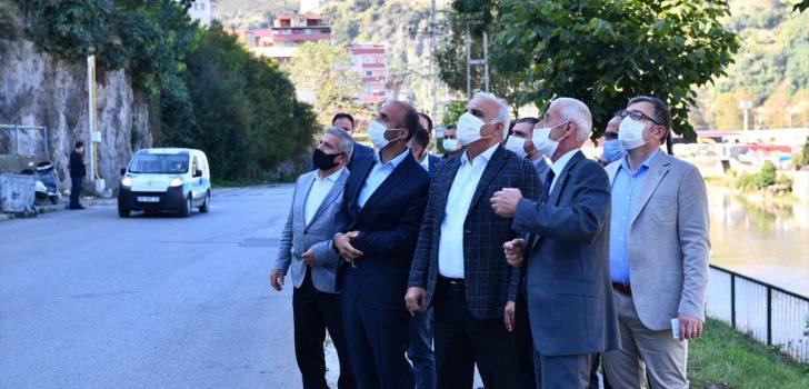 Trabzon Büyükşehir Belediye Başkanı Zorluoğlu'nun mahalle ziyaretleri