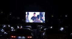 Araklı'da Arabalı Sinema Etkinliği Büyük İlgi Gördü