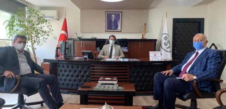 Başkanlardan DSİ Bölge Müdürlüğüne Ziyaret