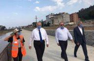 Başkan Çebi Bisiklet ve Yürüyüş Yolunda İncelemelerde Bulundu