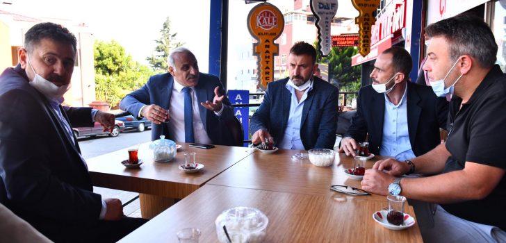 Başkan Zorluoğlu Mahalle Ziyaretlerini Sürdürüyor