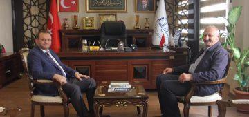 Başkan Çebi Mersin Büyükşehir İl Müftüsü Kondi İle Bir Araya Geldi