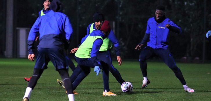 Trabzonspor, MKE Ankaragücü maçı hazırlıklarını sürdürdü