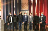 Trabzonspor Divan Başkanlık Kurulu'ndan TSYD Trabzon Şubesi'ne ziyaret