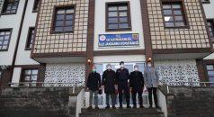 Of Belediye Başkanı Sarıalioğlu, ilçe Jandarma Komutanlığını ziyaret etti