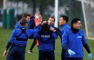 Trabzonspor, MKE Ankaragücü maçı hazırlıklarını tamamladı