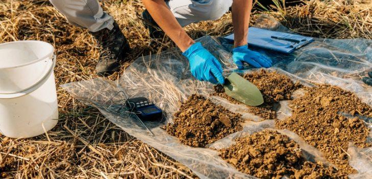 Trabzon'da toprak analizi için çiftçilere çağrıda bulunuldu