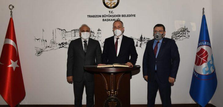 TOKİ Başkanı Bulut'tan Büyükşehir'e Ziyaret