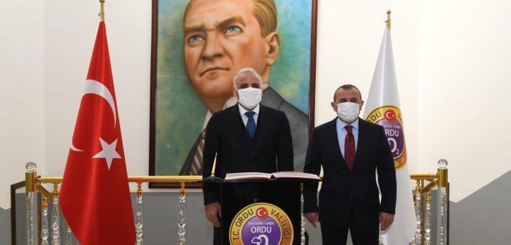 Başkan Zorluoğlu Ordu'da Ziyaretlerde Bulundu