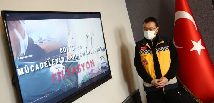 Trabzon'da filyasyon ekiplerinin mücadelesi belgesel oldu