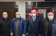 TMMOB Orman Mühendisleri Odasından Başkan Çebi'ye Ziyaret