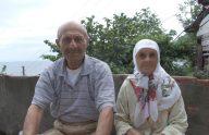 Trabzon'da evde çıkan yangında ölen yaşlı çift defnedildi