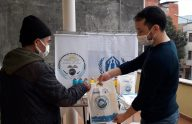 Trabzon' da ihtiyaç sahiplerine malzeme desteği
