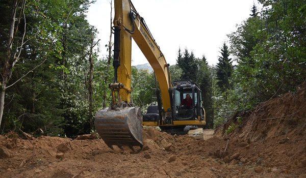 Trabzon'da geçen yıl 43 kilometre yeni orman yolu yapıldı