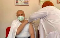 Başkan Çebi Covid 19 Aşısı Oldu
