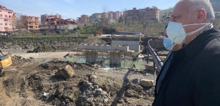 Sanayi Köprüsü Yenileniyor