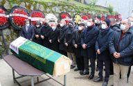 Ekrem İmamoğlu'nun kayınvalidesi Hava Kaya, Trabzon'da son yolculuğuna uğurlandı