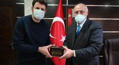 Trabzonspor Önceki Teknik Direktöründen Başkan Çebi'ye Ziyaret