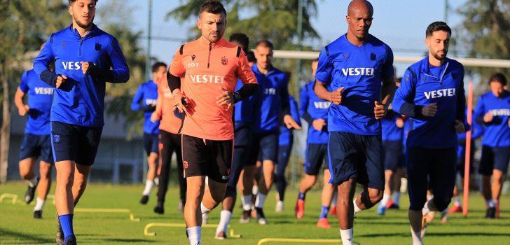 Trabzonspor, Antalyaspor maçının hazırlıklarını tamamladı
