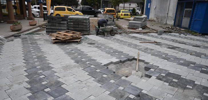 Araklı'da İlk Trafiğe Kapalı Cadde