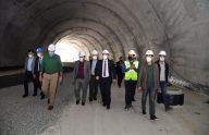 """Trabzon'da okyanus canlılarının da yer alacağı """"Tünel Akvaryum""""un yapımı sürüyor"""